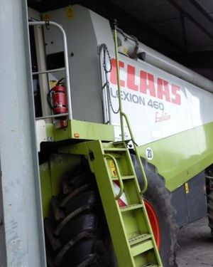 Комбайн Claas Lexion 460 Evolution Год выпуска 2002